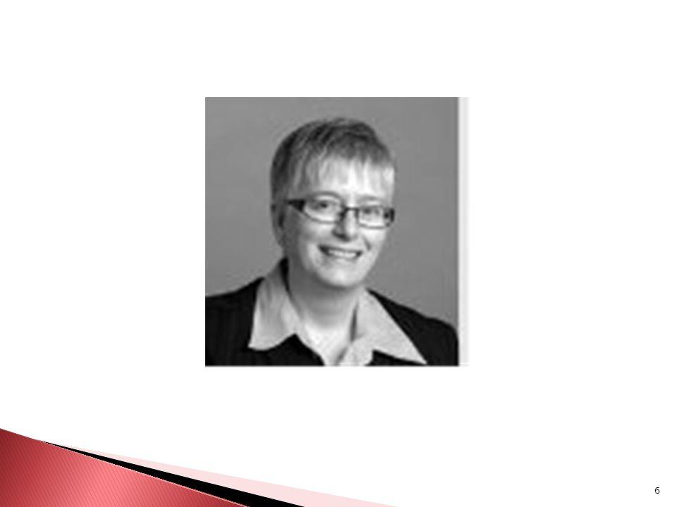 7 Susan Ursel Susan Ursel est une avocate spécialisée dans les domaines du travail et des droits de la personne.