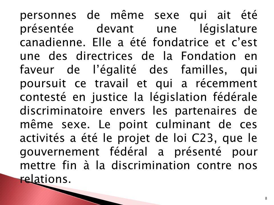 49 Nycole Turmel Nycole Turmel est une syndicaliste de longue date qui a été présidente de lAlliance de la Fonction publique du Canada de 2000 à 2006.