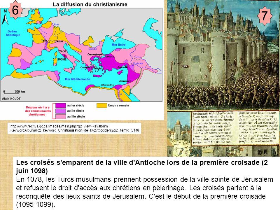 Document de travail 6 7 http://www.recitus.qc.ca/images/main.php?g2_view=keyalbum. KeywordAlbum&g2_keyword=Christianisation+de+l%27Occident&g2_itemId=