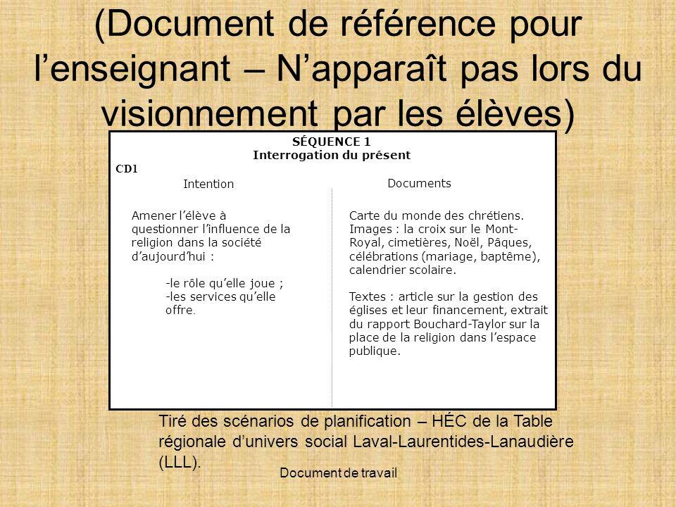 Document de travail 1 2 http://www.ccdmd.qc.ca/monde/ressource/?id=19396&demande=desc http://www.7eevangile.com/carte-religions.jpg