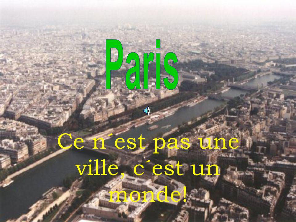 Au cours de dernières vingt années Paris s´est profondément changé grâce aux efforts de ses trois présidents – Georges Pompidou, Valéry Giscard d´Esteing et Francois Mittérand.