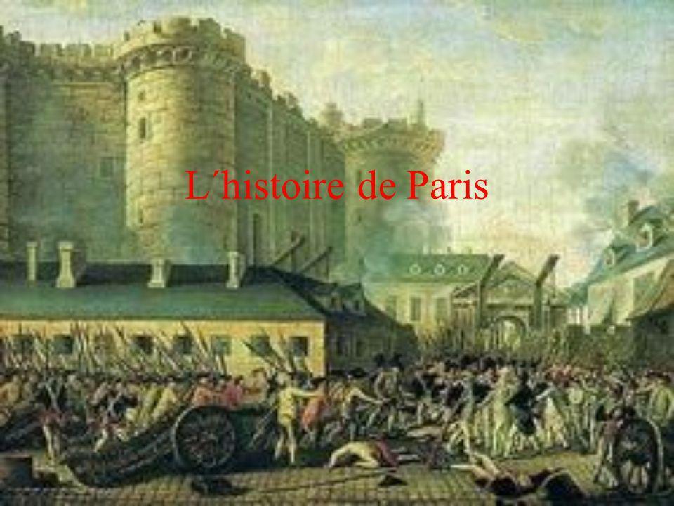 L´histoire de Paris