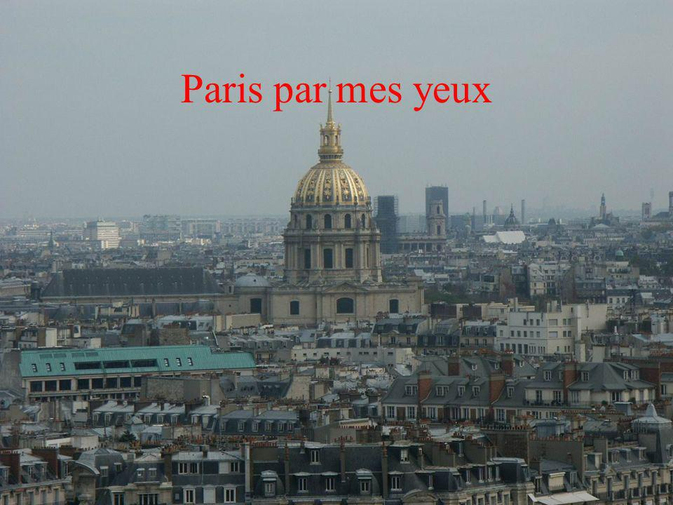 Paris par mes yeux