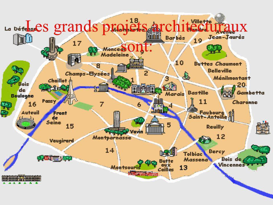 La Défense Ce quartier avec sa Grande Arche a été édifié au bout de l´Axe Royal historique qui mène du Palais du Louvre à travers la Place de la Concorde, les Champs-Elysées à l´endroit où les défenseurs de la capitale ont livré les derniers combats du siège en 1871 – d´où vient le nom de quartier – La Défense.