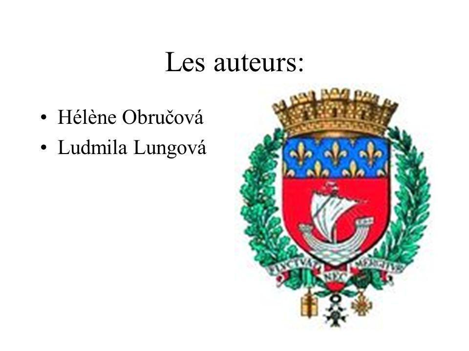 Les auteurs: Hélène Obručová Ludmila Lungová