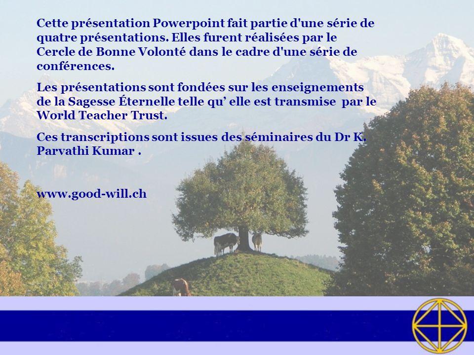 Cette présentation Powerpoint fait partie d une série de quatre présentations.