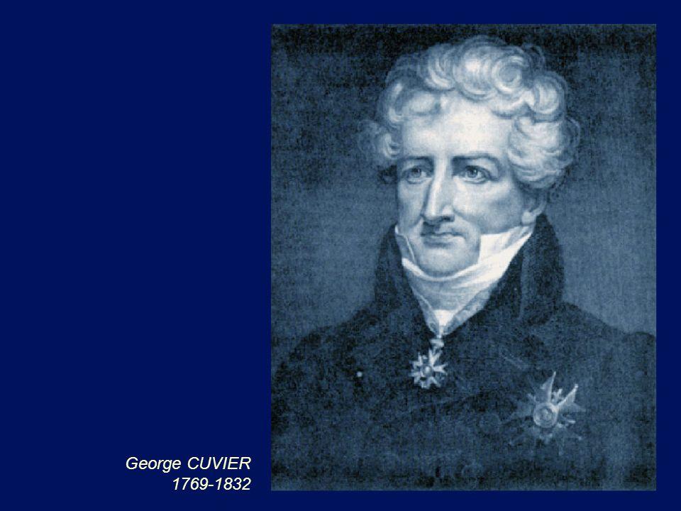 George CUVIER 1769-1832
