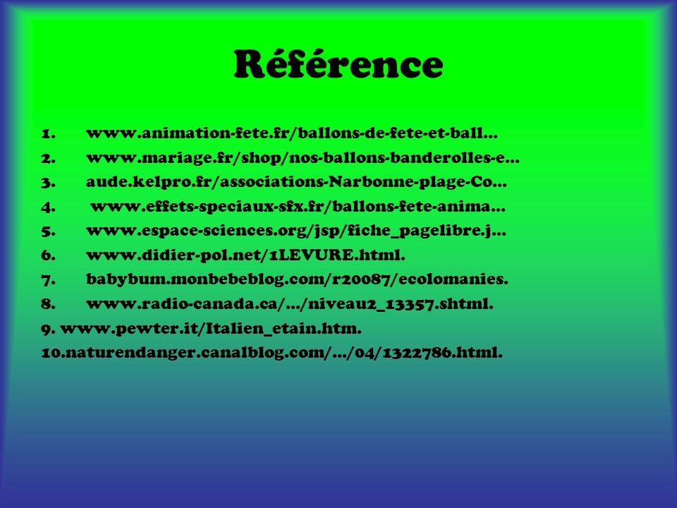 Référence 1.www.animation-fete.fr/ballons-de-fete-et-ball... 2.www.mariage.fr/shop/nos-ballons-banderolles-e... 3.aude.kelpro.fr/associations-Narbonne
