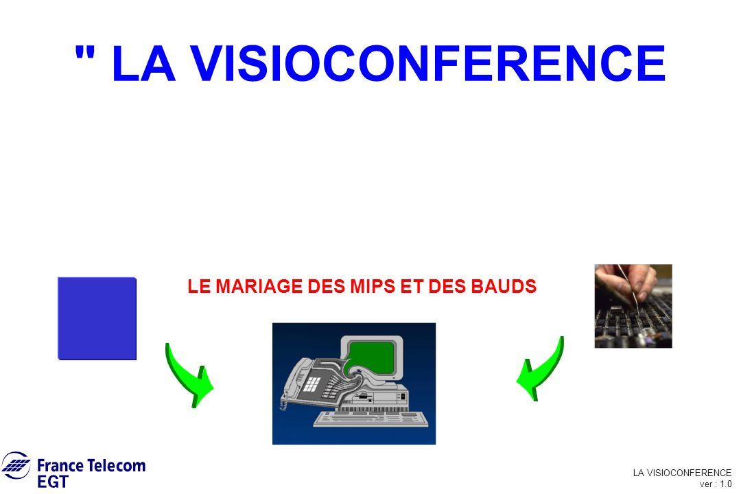 LA VISIOCONFERENCE ver : 1.0 La Visioconférence