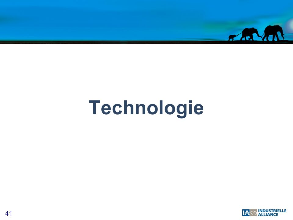41 Technologie