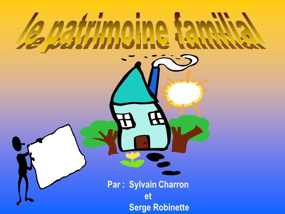 Par : Sylvain Charron et Serge Robinette