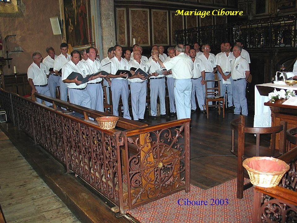 Mariage Ciboure 2003