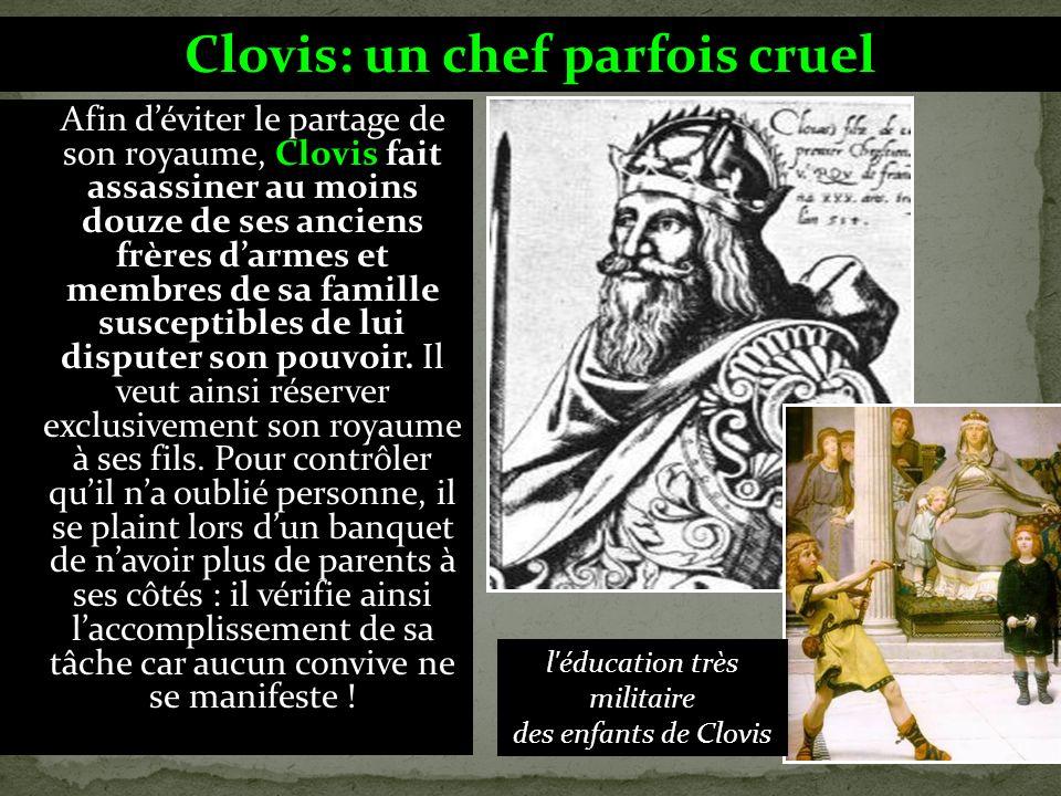 En 486, Clovis entre en conflit avec Syagrius,