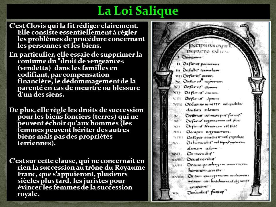 Le vase de Soissons: Clovis affirme son autorité