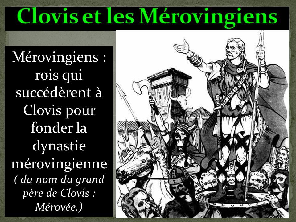 Début du règne de Clovis Fin du règne du dernier des Mérovingiens classedesrequins@gmail.com sharkrequiem@free.fr