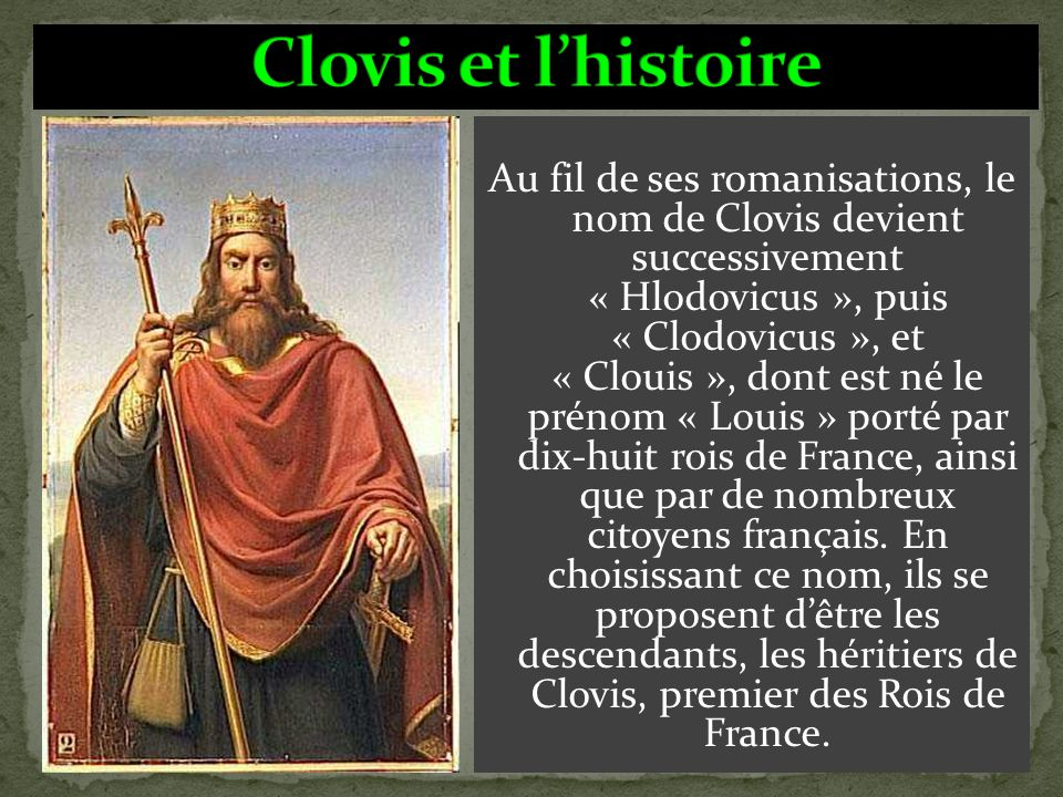 C'est Clovis qui la fit rédiger clairement. Elle consiste essentiellement à régler les problèmes de procédure concernant les personnes et les biens. E