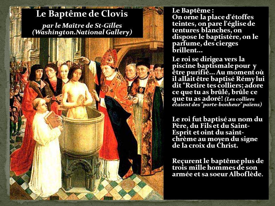 Clovis à Tolbiac Contre les Alamans 496 Dieu de Clotilde si tu me donnes la victoire, je me convertirai.