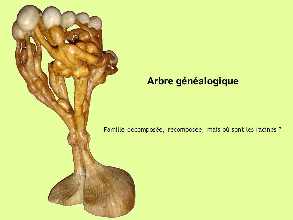 Arbre généalogique Famille décomposée, recomposée, mais où sont les racines