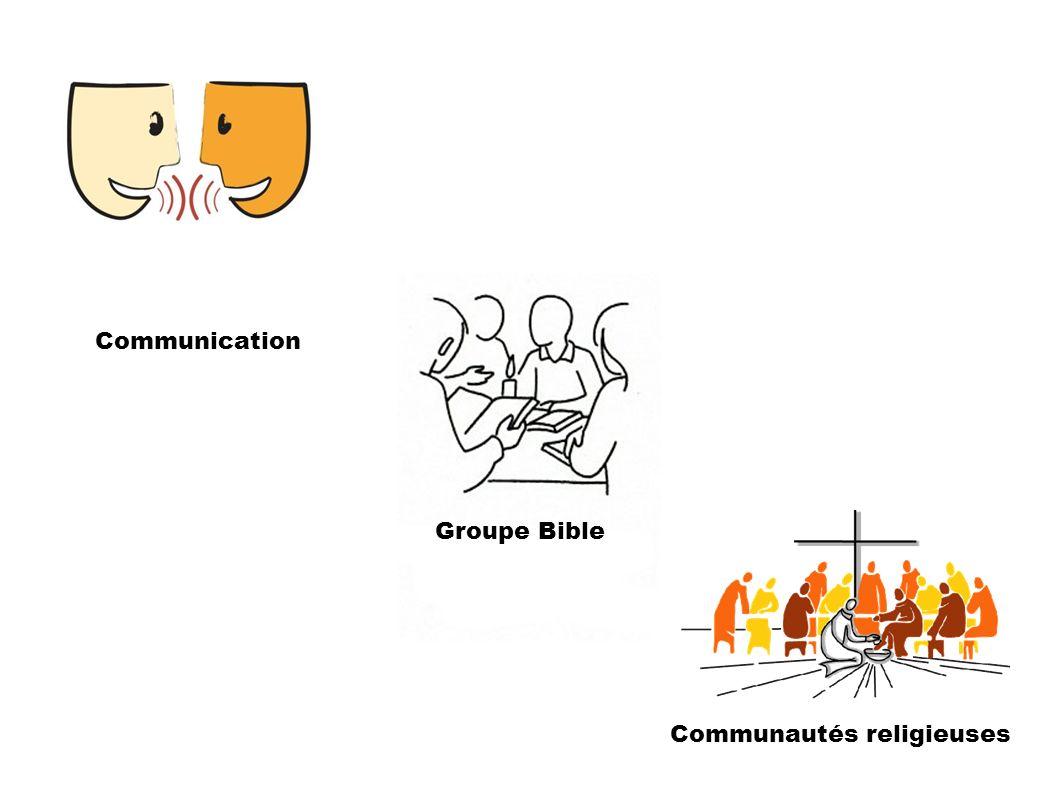 Communautés religieuses Communication Groupe Bible