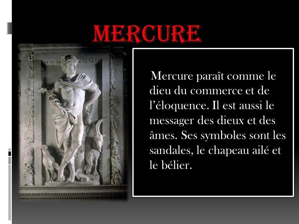MARS Il est le dieu de la guerre et lamant de Venus.