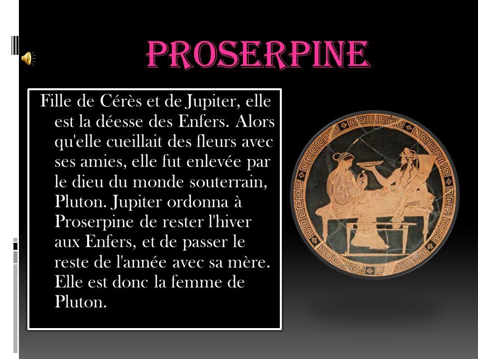 Cérès Cérès est la déesse des moissons, de l agriculture et de la fertilité.