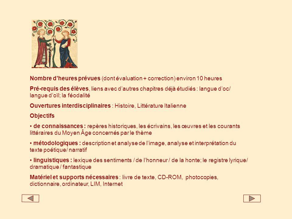 Œuvres italiennes Lirica stilnovista : G.