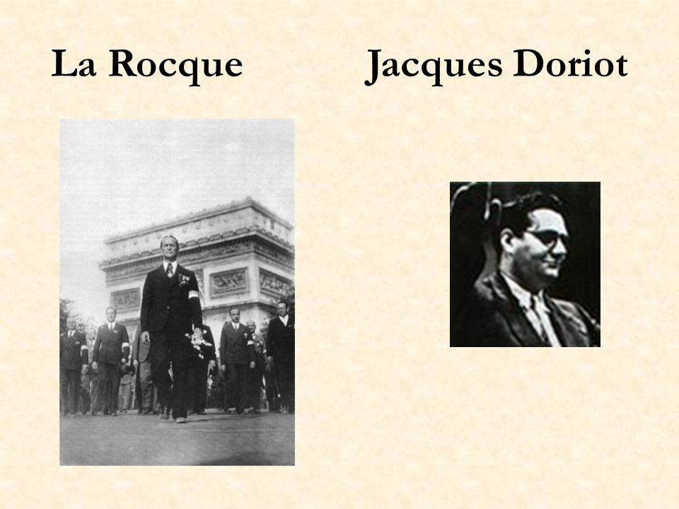 La Rocque Jacques Doriot