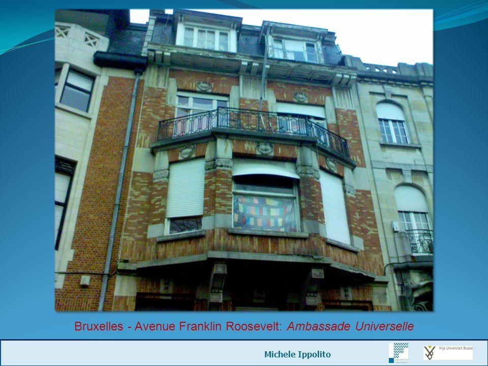 Bruxelles - Avenue Franklin Roosevelt: Ambassade Universelle Michele Ippolito