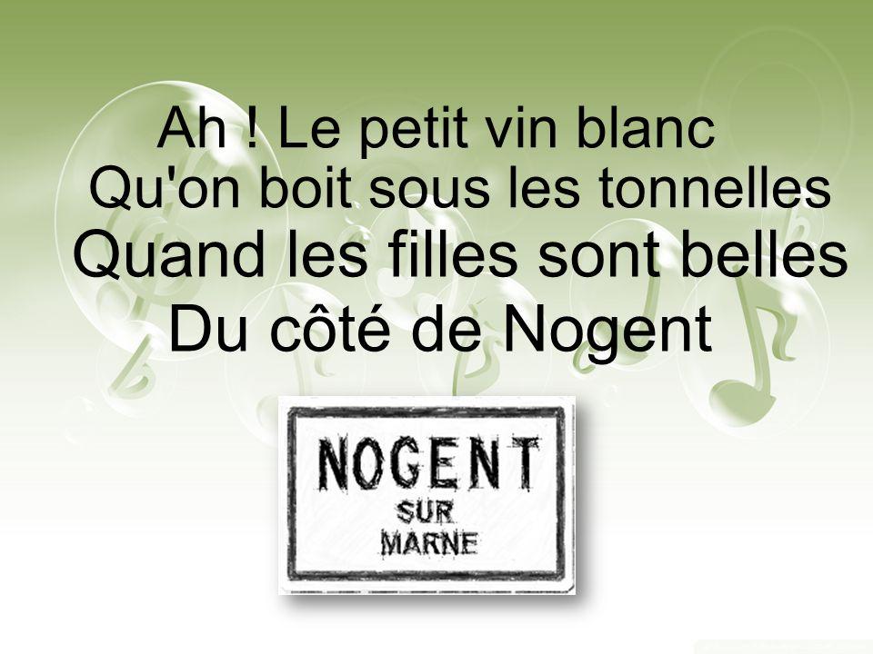 Ah ! le petit vin blanc Chanteurs : Nemy Titeuf Aramis