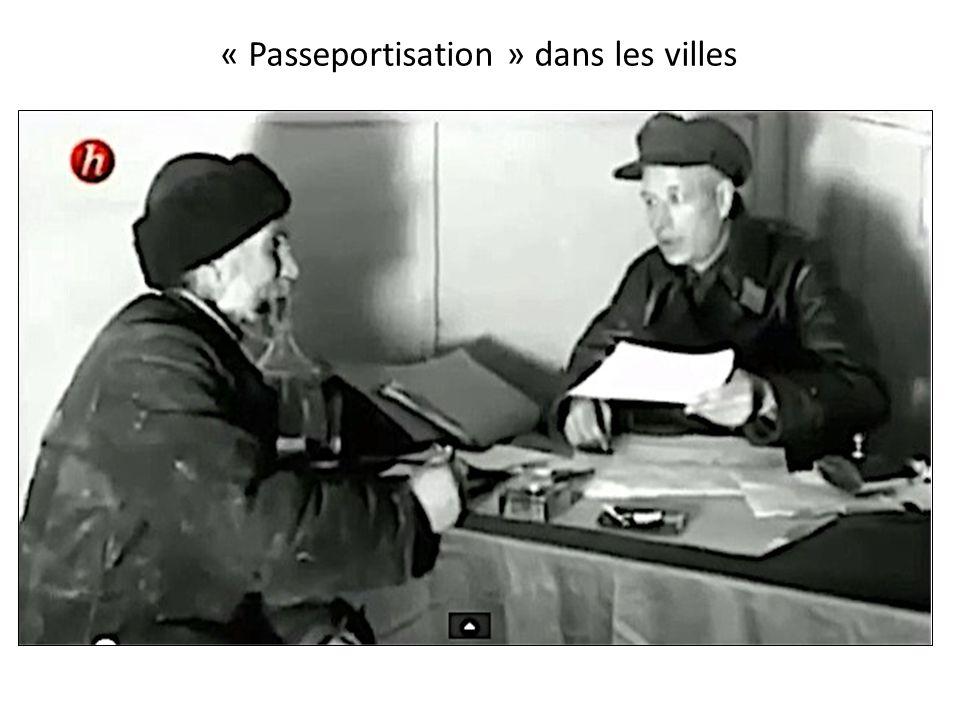 « Passeportisation » dans les villes