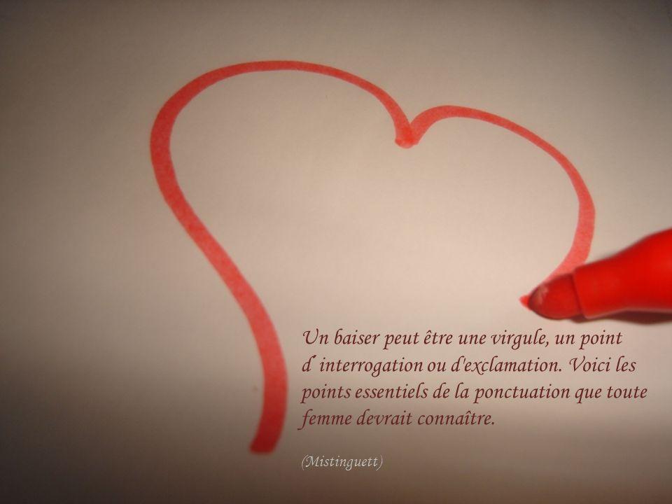 La comète de l amour ne frôle notre coeur qu une fois par éternité.