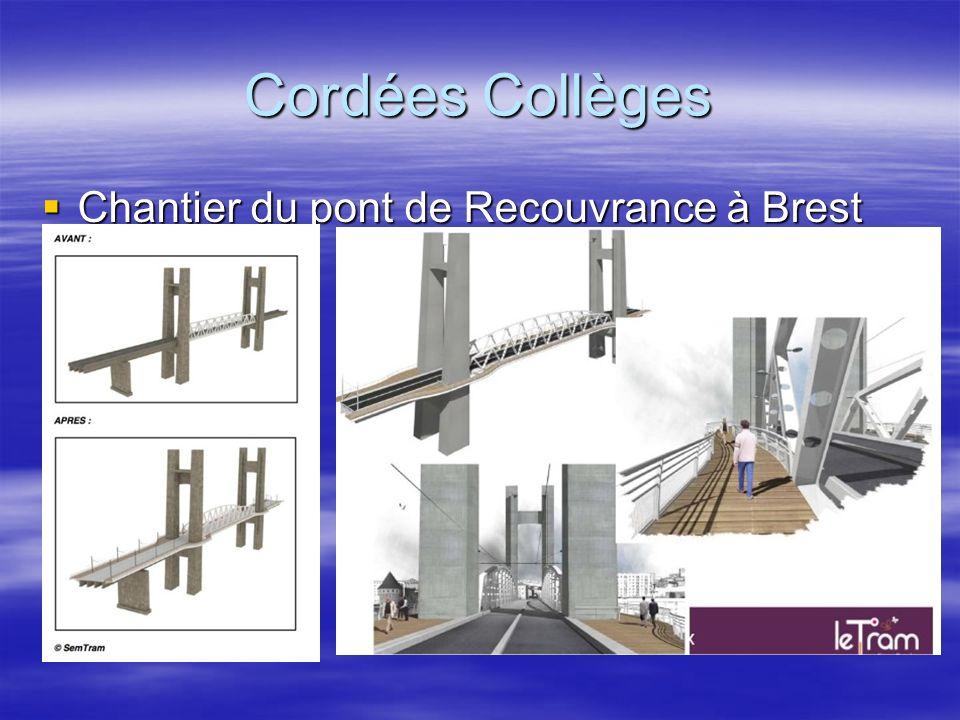 Chantier du pont de Recouvrance à Brest Chantier du pont de Recouvrance à Brest Cordées Collèges