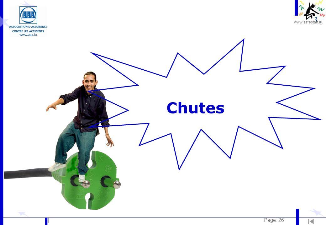 www.safestart.lu Page: 26 Chutes