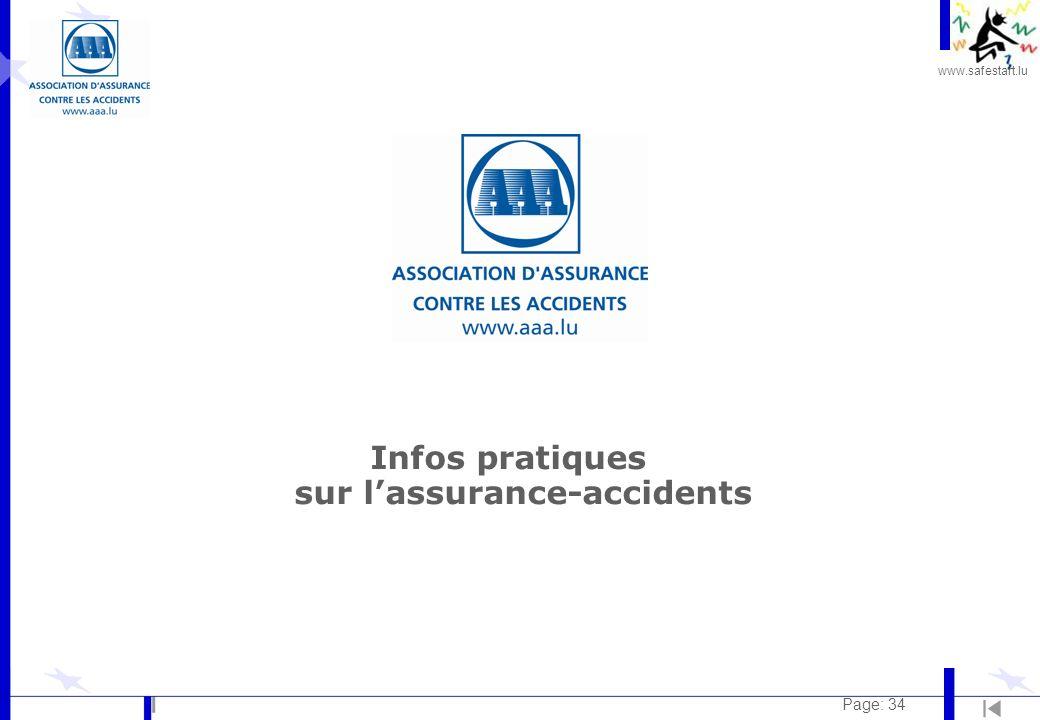 www.safestart.lu Page: 34 Infos pratiques sur lassurance-accidents