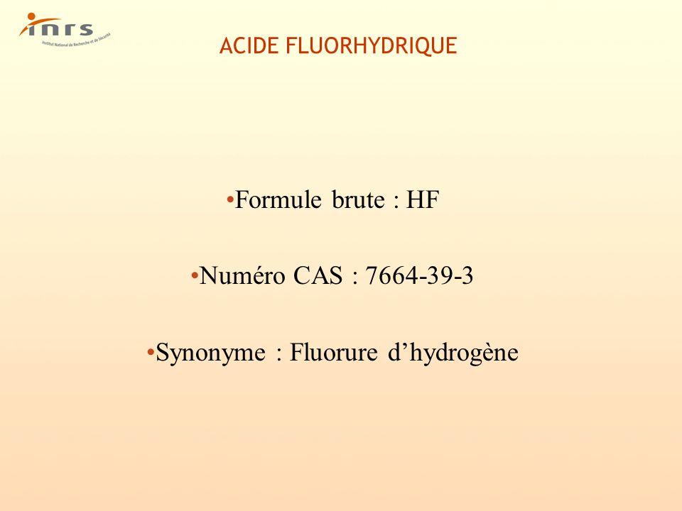 ACIDE CHLORHYDRIQUE Propriétés chimiques HCl est un acide fort Les solutions aqueuses attaquent la plupart des métaux avec formation d hydrogène et dégagement de chaleur.