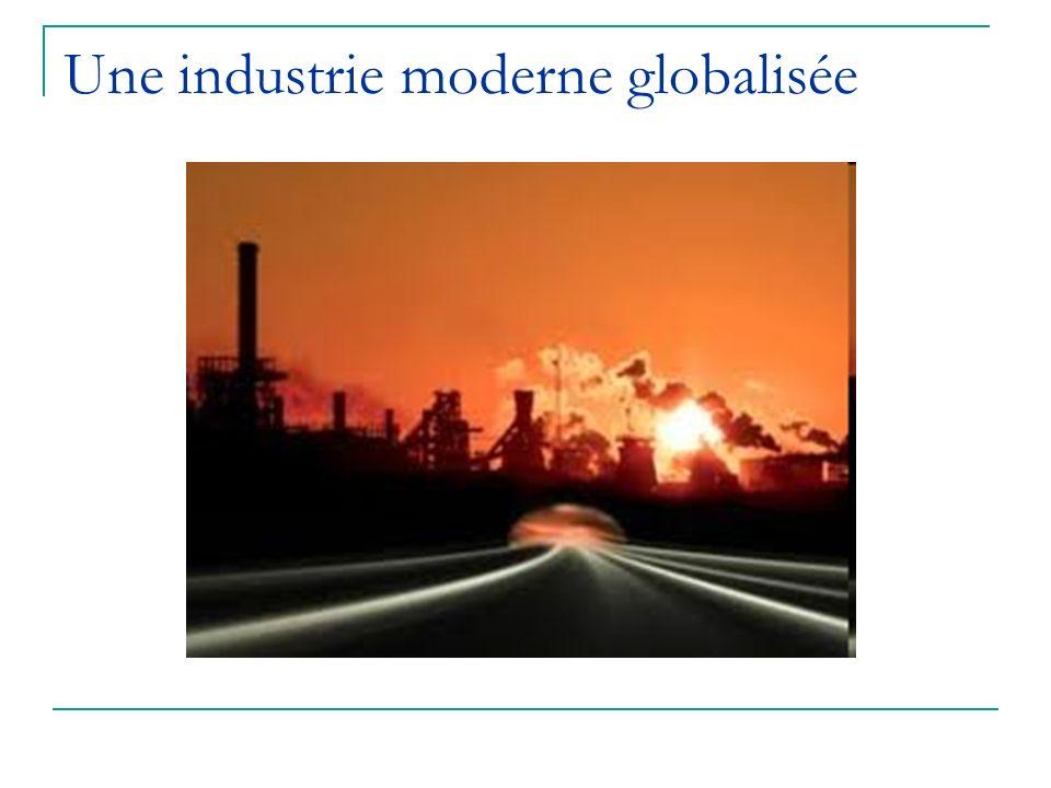Une industrie moderne globalisée