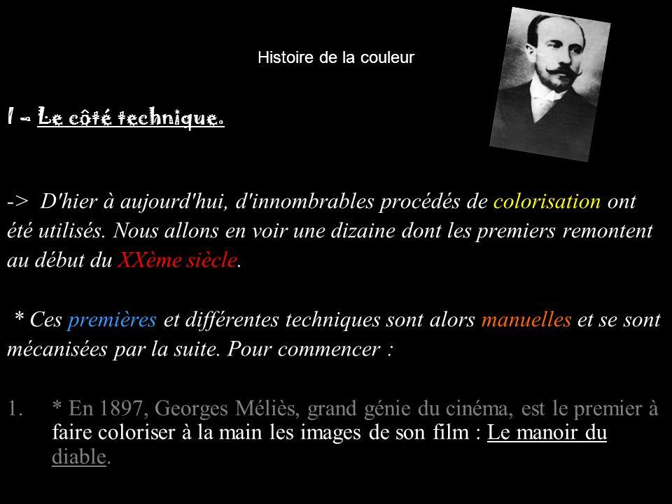 Histoire de la couleur 2.