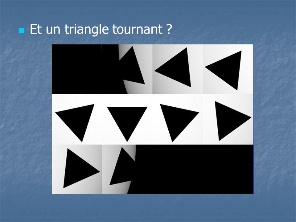 Et un triangle tournant ?