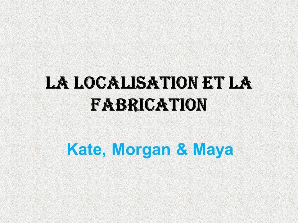 Le Fabrication Le definition de la fabrication et le transformation des matieres primere en un etat plus fini.
