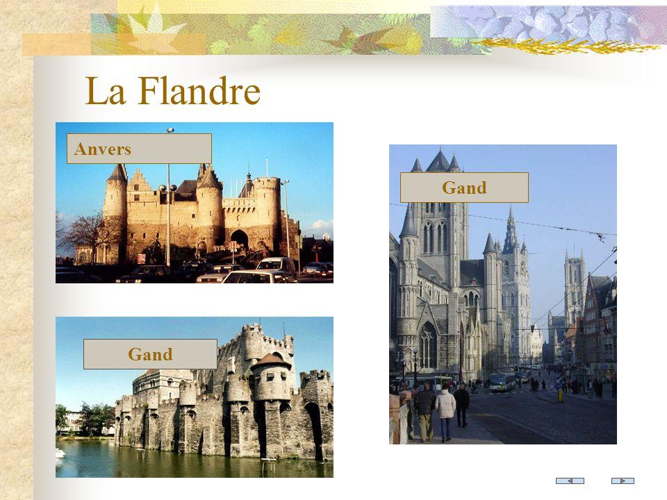 La Flandre Anvers Gand