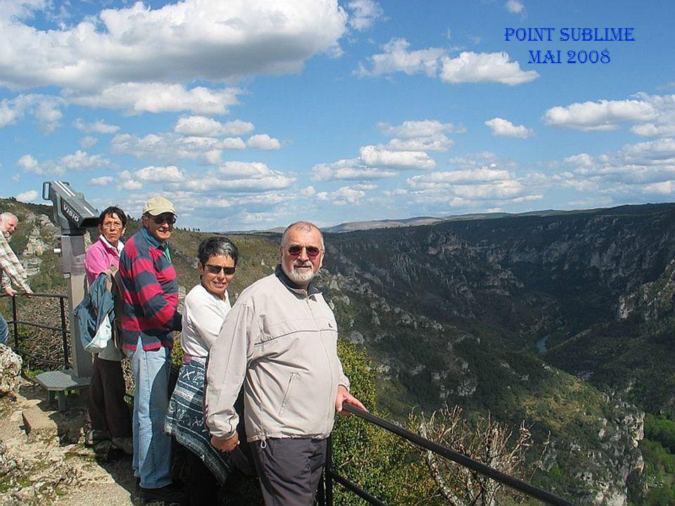 Vue du point sublime Les gorges du Tarn