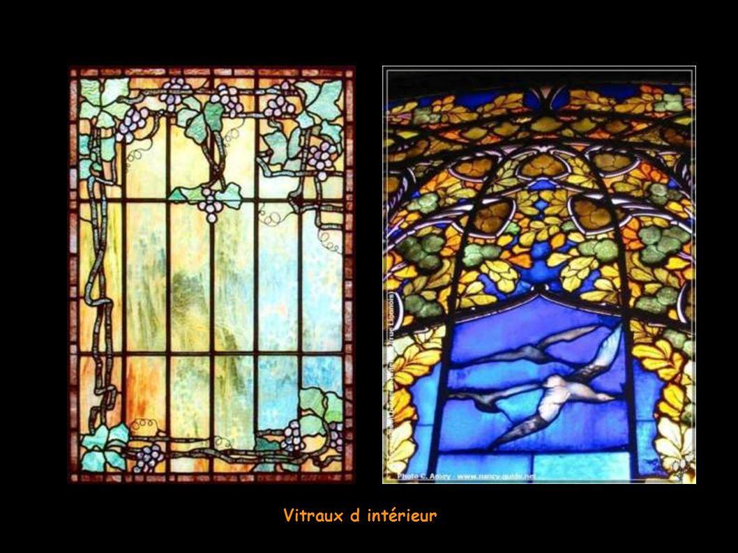 Louis Comfort Tiffany - Vitraux intérieurs