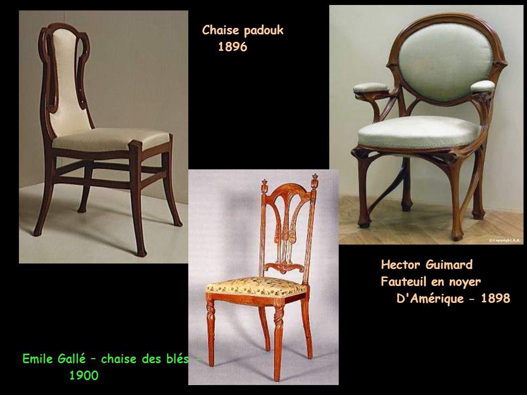 Boiseries de salle à manger de Champrosay - 1900-1901