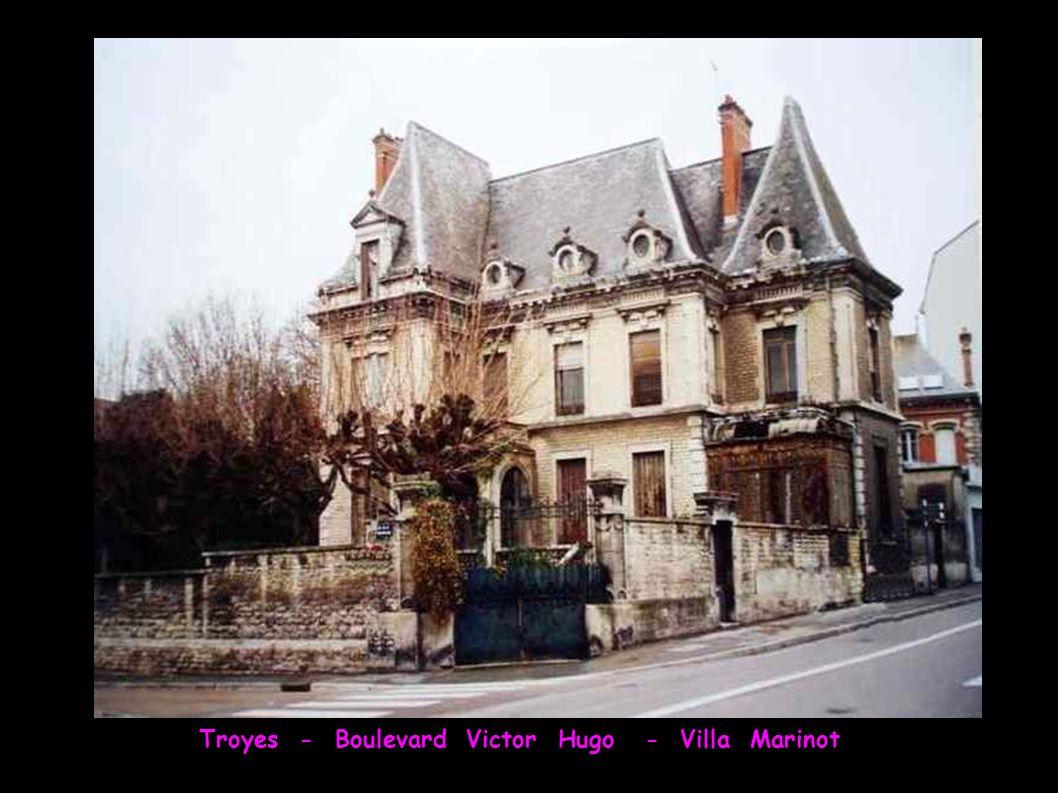 Troyes - Boulevard Victor Hugo - Villa Marinot