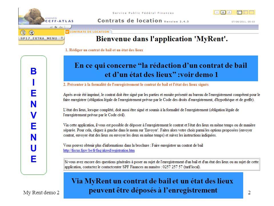 My Rent demo 20110201133 13.Cliquez ici pour télécharger laccusé de réception 14.