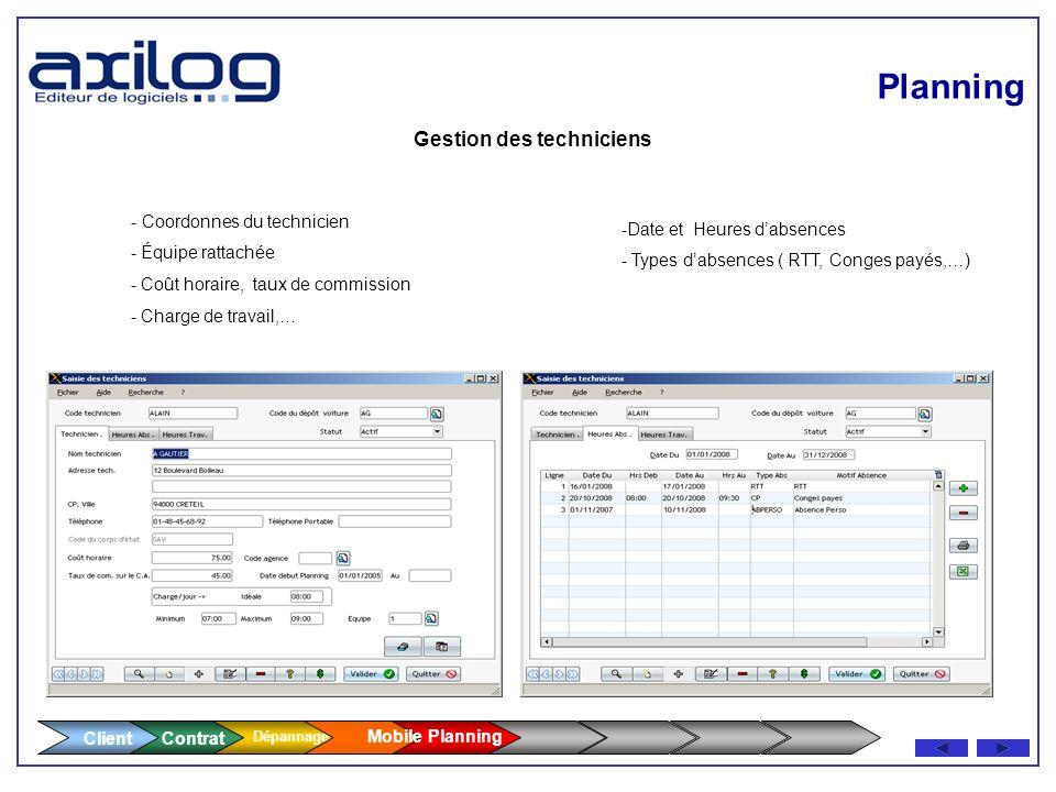 Imprimante thermique 4 pouces Transmission GPRS - Saisie du rapport dintervention par le technicien avec signature du client et impression via imprima