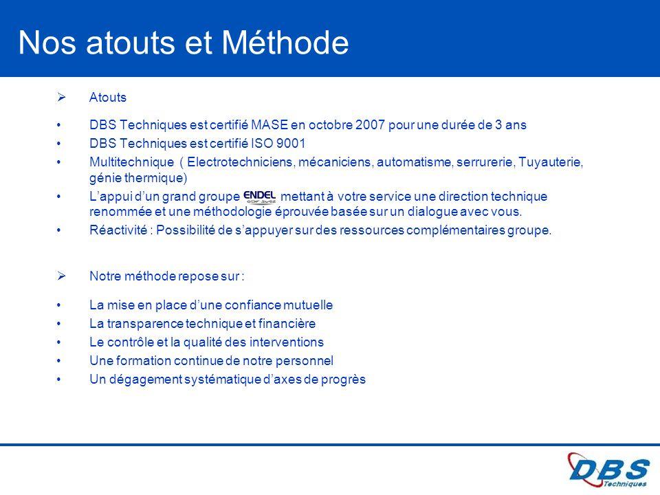 BD - Version 01 Ce document est la propri é t é de ENDEL. Il ne pourra, sans autorisation é crite, être utilis é ou communiqu é à des tiers. Nos atout