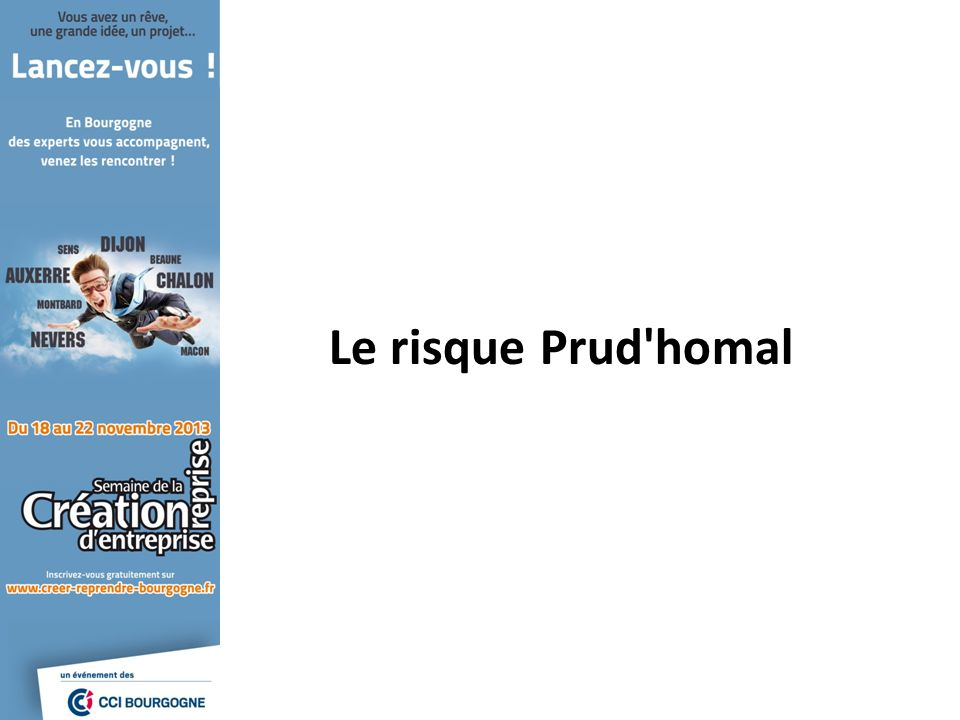 Le risque Prud'homal
