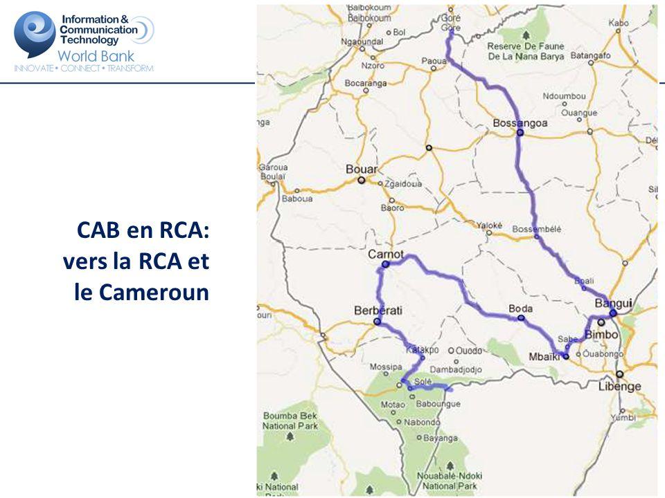 CAB au Cameroun : des assistances techniques pour favoriser l interconnexion