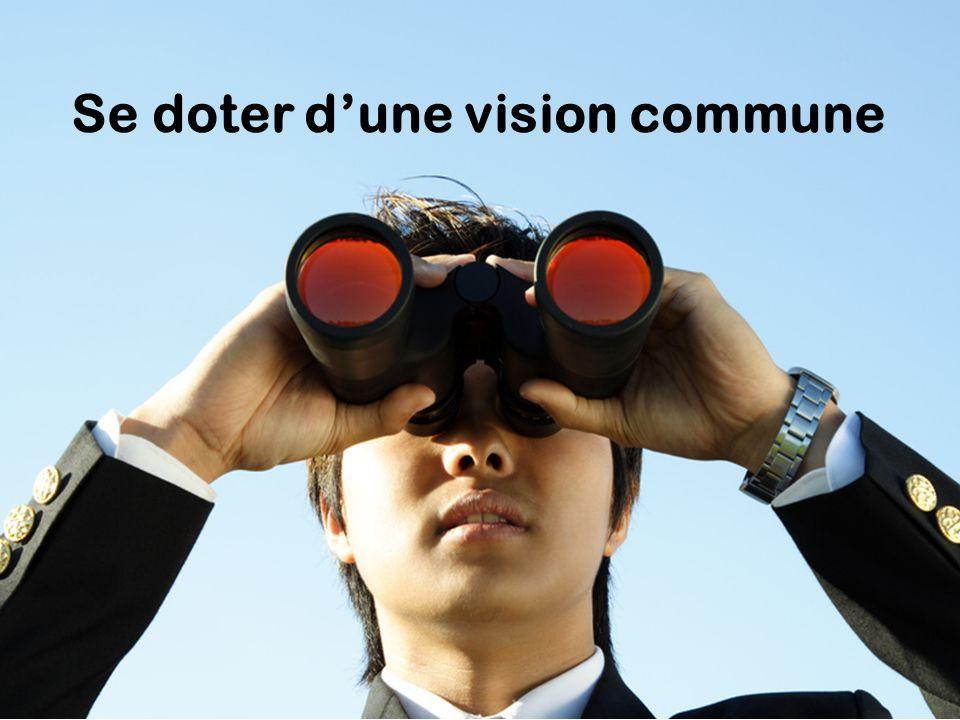 Se doter dune vision commune